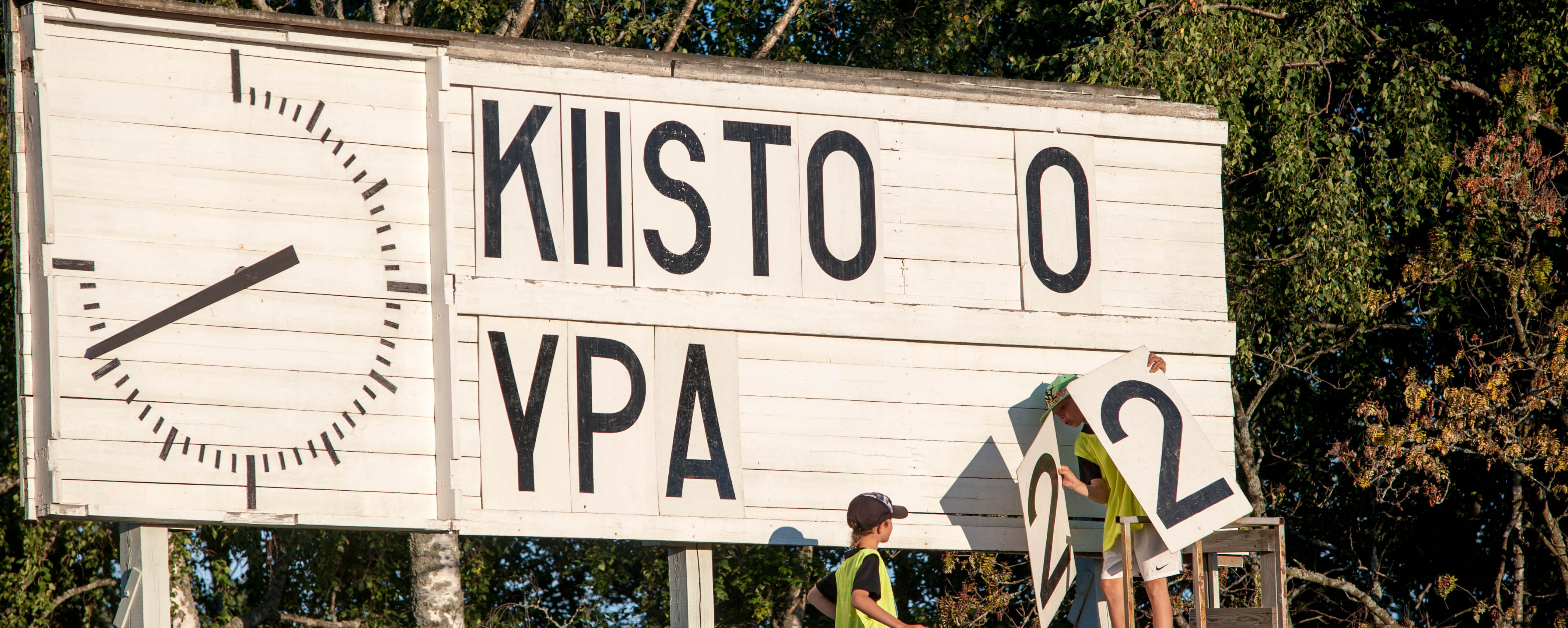 FC Kiisto Vaasa - FC YPA Ylivieska 1:3 (0:2)