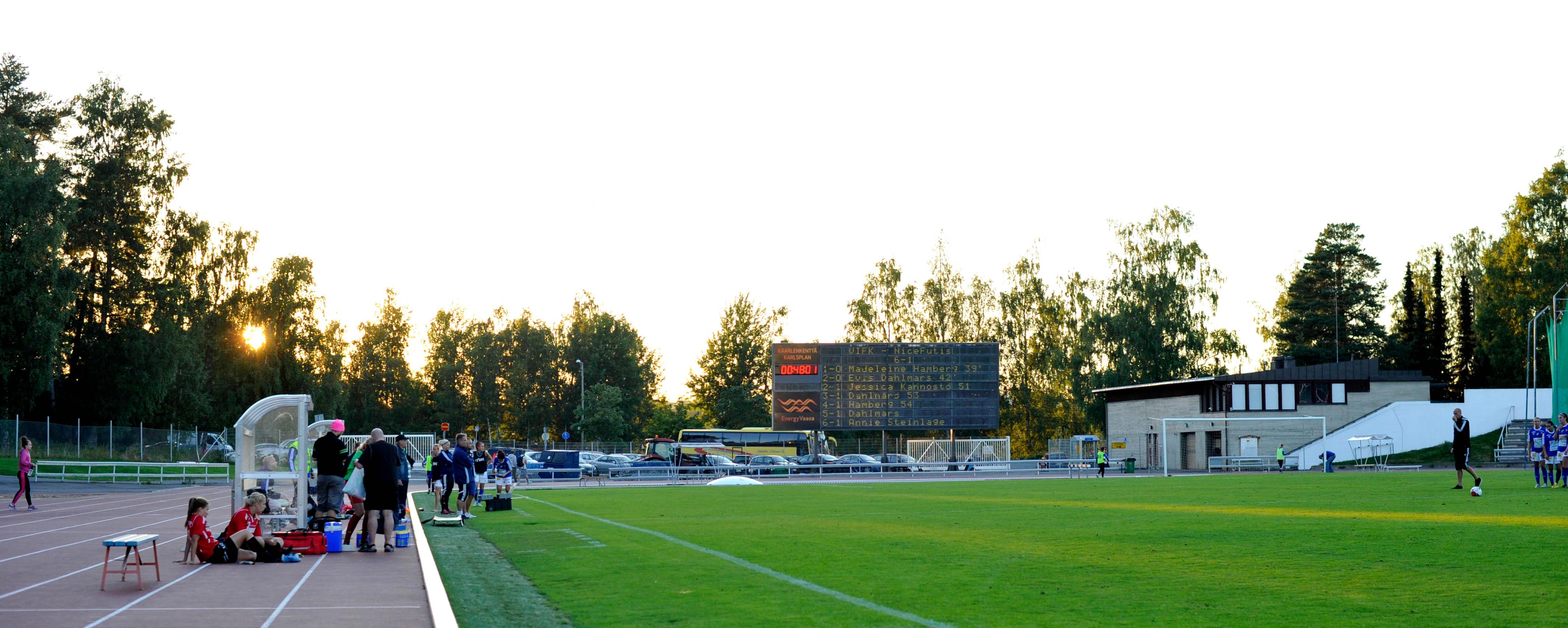 Vaasa IFK - NiceFutis 6:1 (2:0)