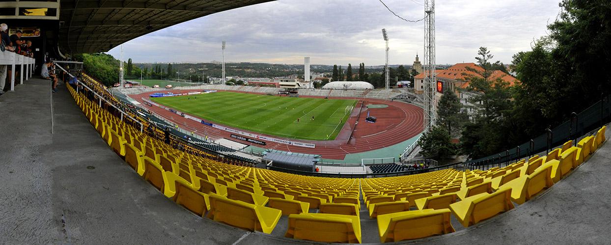 Dukla Prag - Viktoria Pilsen 01.08.2015,Stadion Juliska, 5.182 Zuschauer