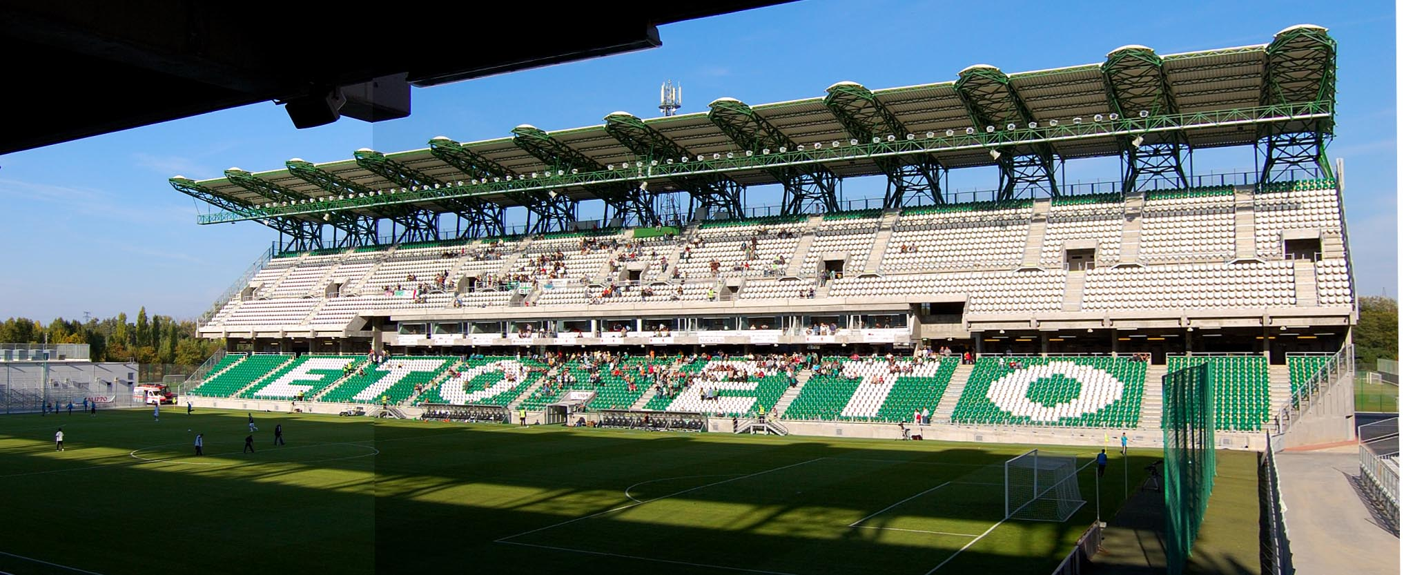 ETO FC Györ – Paksi FC,Ungarn, ETO-Park