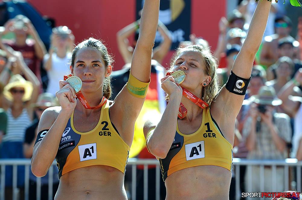 Beachvolleyball Frauen Finale
