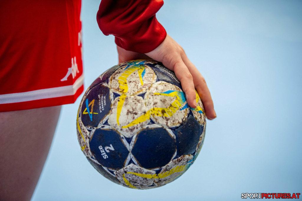 Kosovo - Oesterreich. Bild zeigt Handball
