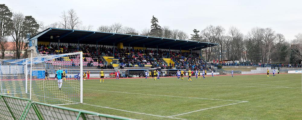 1.SC Znojmo - Bohemians Prag, Fotbalova narodni liga, Fußball, Tschechien, 24.03.2013  Znojmo,Mestsky Stadion Znojmo