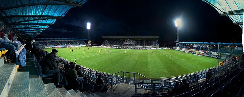 SK Dynamo Ceske Budejovice - FK Dukla Prag, Fotbalový stadion Střelecký ostrov