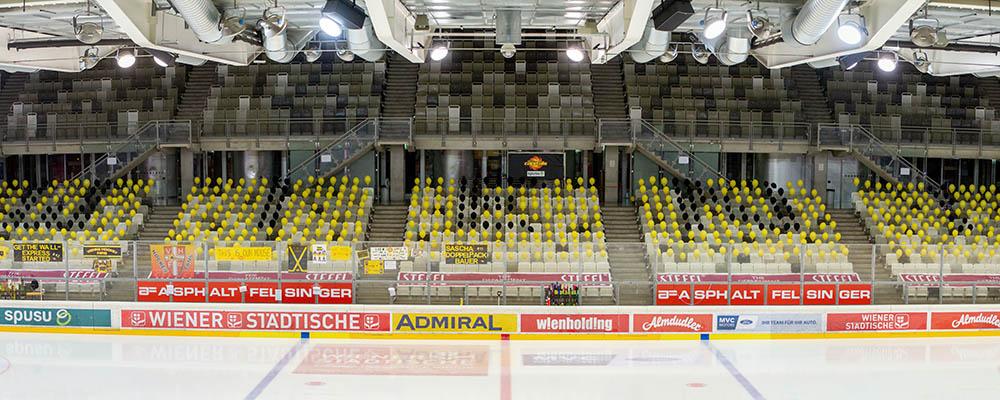 spusu Vienna Capitals - EC KAC 05.03.2021,ICE Hockey League, Wien, Erste Bank Arena, 0 Zuschauer (wegen Corona)
