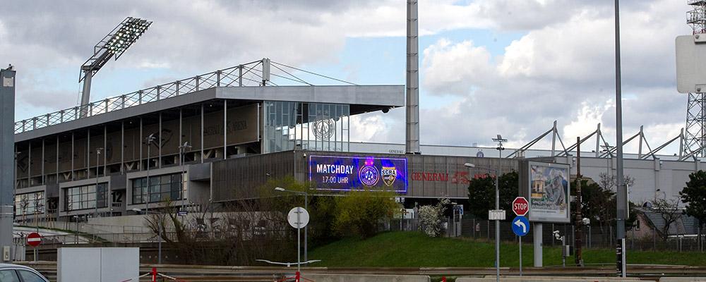 Austria Wien - SCR Altach, Generali Arena
