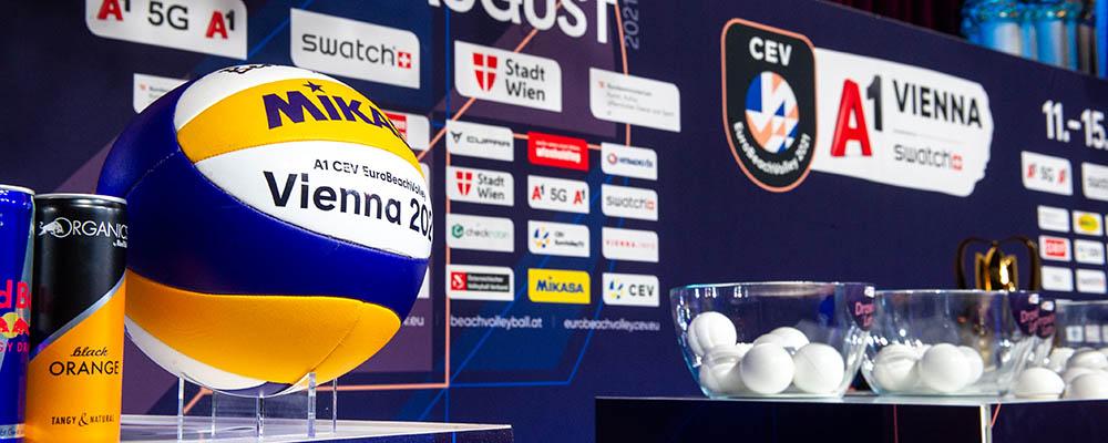 Beachvolleyball Europameisterschaft Auslosung 15.07.2021