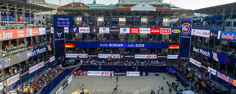 Beachvolleyball, Europameisterschaft, Tag 3