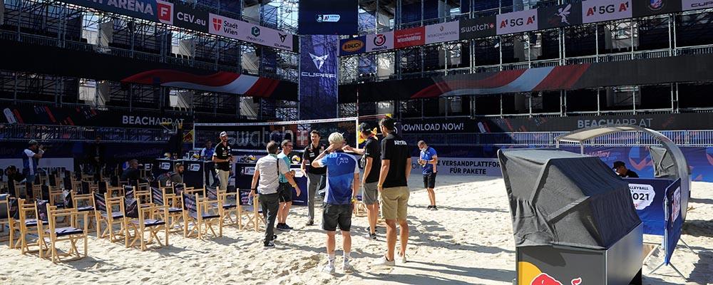 Beachvolleyball, Europameisterschaft PK